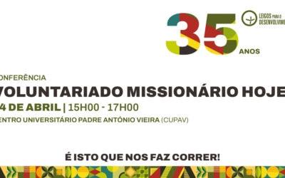 "Conferência ""Voluntariado Missionário Hoje"""