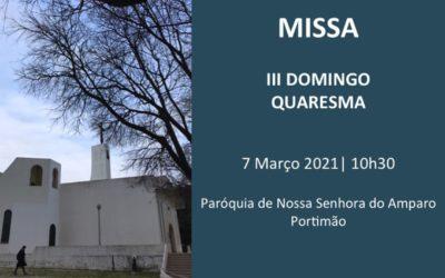 Eucaristia on-line – III Domingo da Quaresma