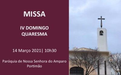 Eucaristia on-line – IV Domingo da Quaresma
