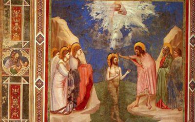 Com o Baptismo Jesus tornou-Se solidário com os homens