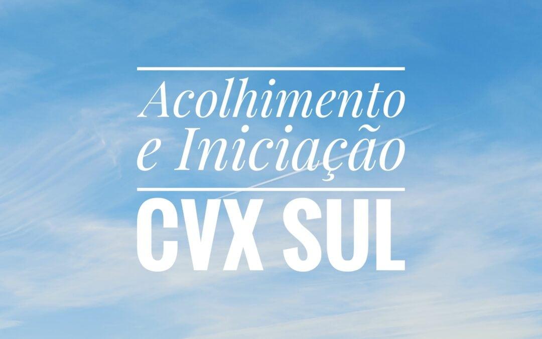 Etapa de Acolhimento e Iniciação na CVX Sul