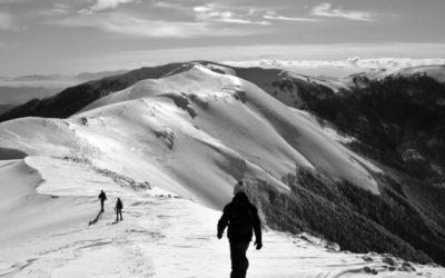 Subida à montanha